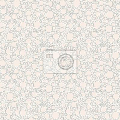 Naklejka Seamless abstrakcyjny wzór z bąbelkami