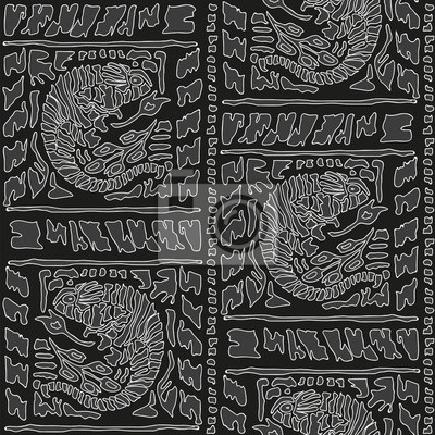 Seamless background with Chameleon Pattern