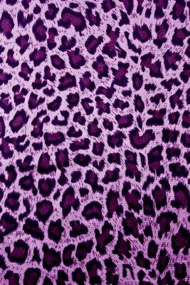 Naklejka seamless leopard skin