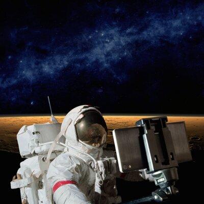 Naklejka Selfie na Marsie