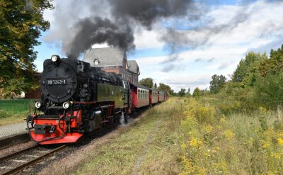Naklejka Selketalbahn