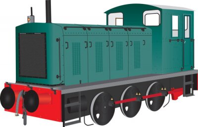 Naklejka shunter diesel