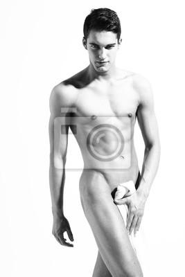 nagi model mężczyzna