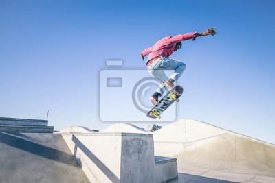 Naklejka skater