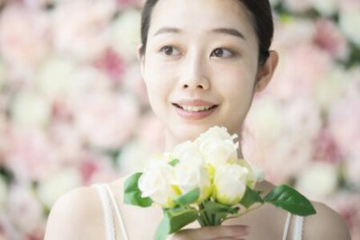 Naklejka Skin Care,  Flower Background