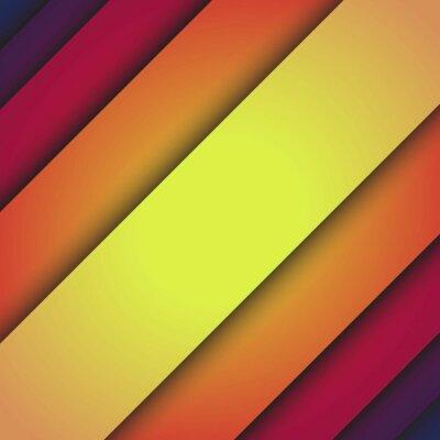 Naklejka Skośne linie abstrakcyjne tło wektor
