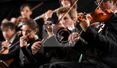 Naklejka Skrzypce Orkiestra pierwszy odcinek
