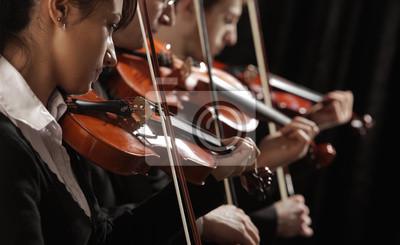 skrzypków na koncercie