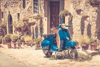 Naklejka Skuter w Toskanii