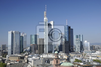 Skyline we Frankfurcie