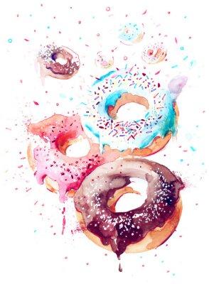 Naklejka Słodycze