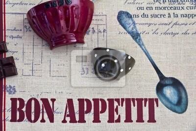 Naklejka Smacznego - plakat na La Cucina o La Trattoria