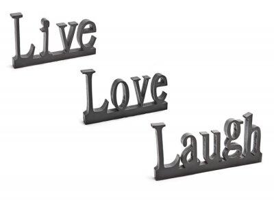 Naklejka Śmiać się zakochany żywo