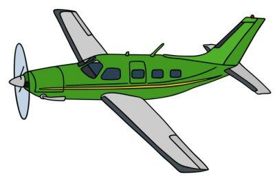 Naklejka Śmigło samolotu / Strony rysunku, ilustracji wektorowych