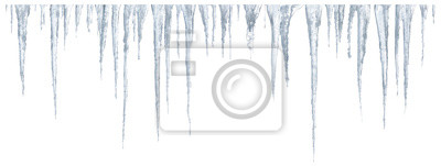 Naklejka Sople ustawione na białym tle
