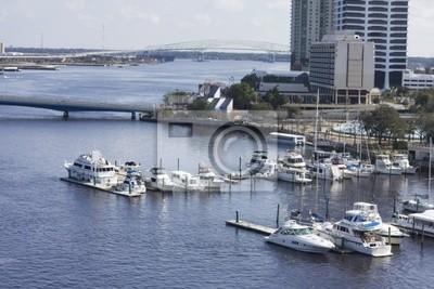 South Bank Jacksonville marina