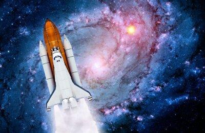 Naklejka Space Shuttle Spaceship Rocket
