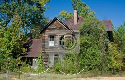 Naklejka spooky stary dom