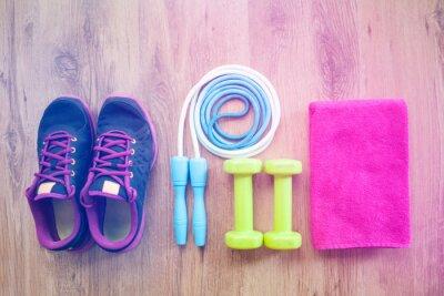 Naklejka sprzęt fitness