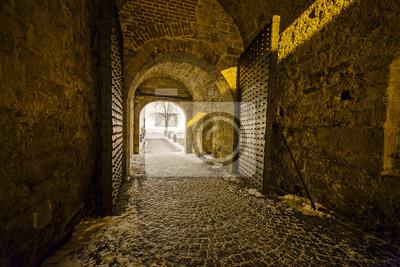 Średniowiecznej bramy