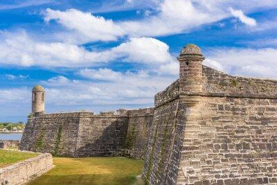 Naklejka St. Augustine, Florida at the Castillo de San Marcos National Monument