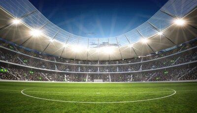Naklejka Stadion środkowa