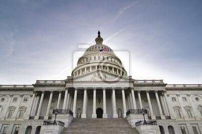 Naklejka Stany Zjednoczone Kapitol