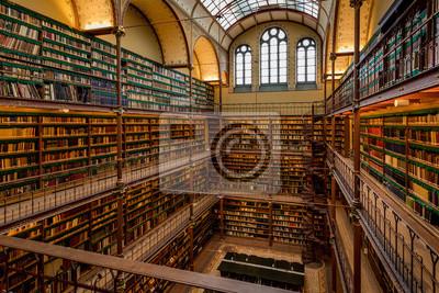 Naklejka Stara biblioteka