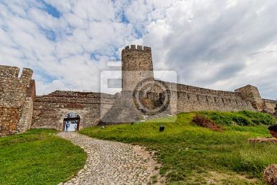 Stara wieża twierdzy w Belgradzie, w Serbii, w Belgradzie