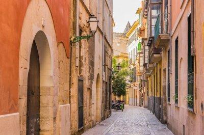 Naklejka Stare miasto ulica Stary Antique