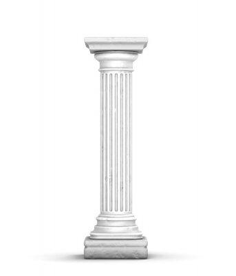Naklejka Starożytne kolumny (z małymi pęknięciami)