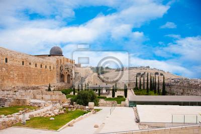 Starożytne miasto Jerozolima, miasto trzech religii