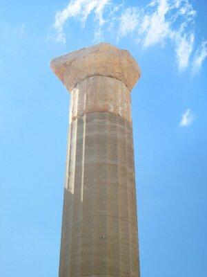 Naklejka Starożytny grecki kolumny
