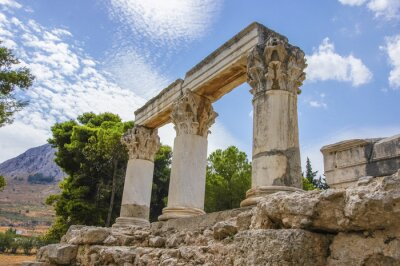 Naklejka Starożytny Korynt