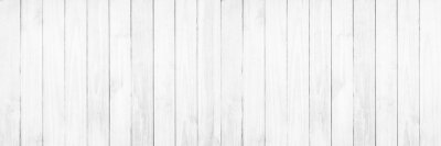 Naklejka Stary biały drewniany tekstury tło.