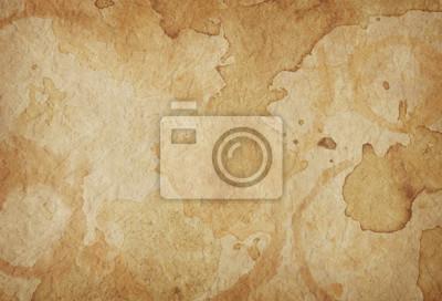 Naklejka stary papierowy tło