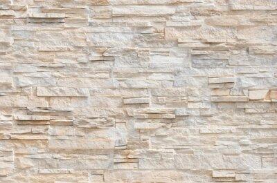 Naklejka Stein Fliesen Steinmauer Nowoczesny