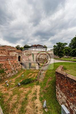Stone Brama twierdzy w Belgradzie, w Serbii, w Belgradzie