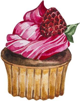 Naklejka Strawberry Cupcake