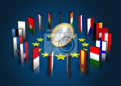 Strefa euro - Dominoeffekt - Euro dreht sich