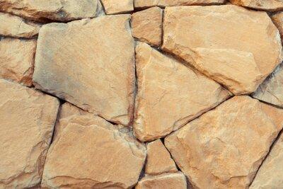 Naklejka Streszczenie kamienne ściany tekstury tła