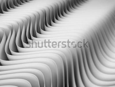 Naklejka Streszczenie tło wzór fal