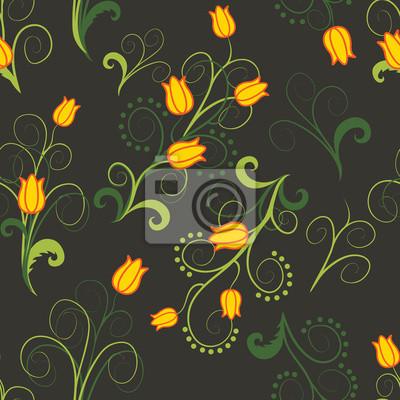 streszczenie żółte kwiaty