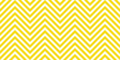 Naklejka Summer background chevron pattern seamless yellow and white.