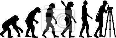 Surveyor z teodolit ewolucji