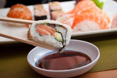 Naklejka sushi