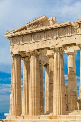 Naklejka Świątynia Partenon na Akropolu, Ateny, Grecja