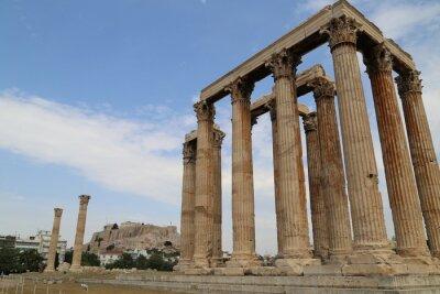 Naklejka Świątynia Zeusa Olimpijskiego
