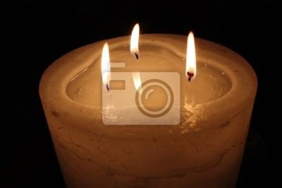 Naklejka Świeczka