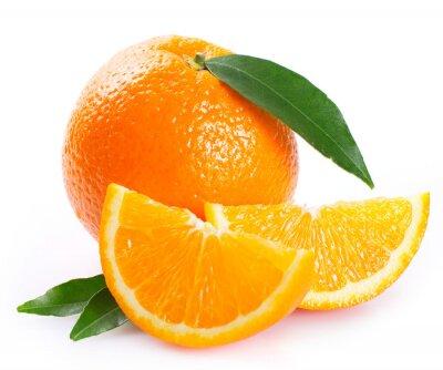 Naklejka Świeże pomarańczowy